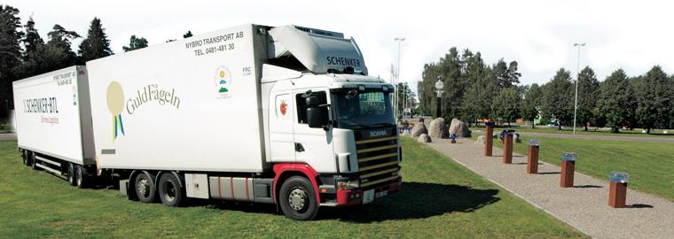 Nybro Transport är ett miljötänkande företag